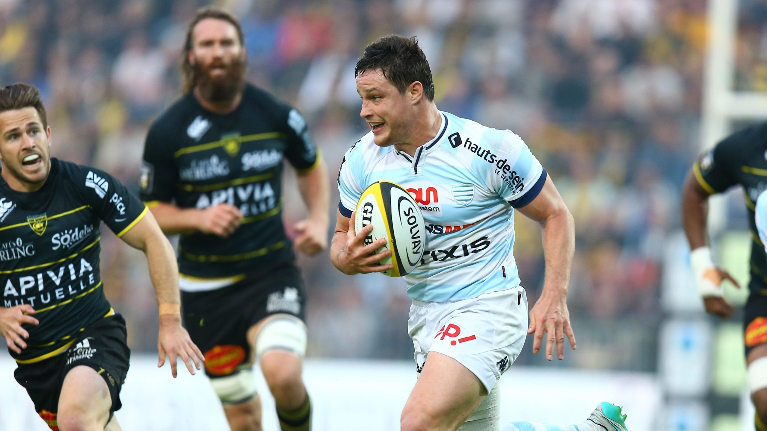 Henry Chavancy (Racing 92) face à La Rochelle - 27 mai 2016