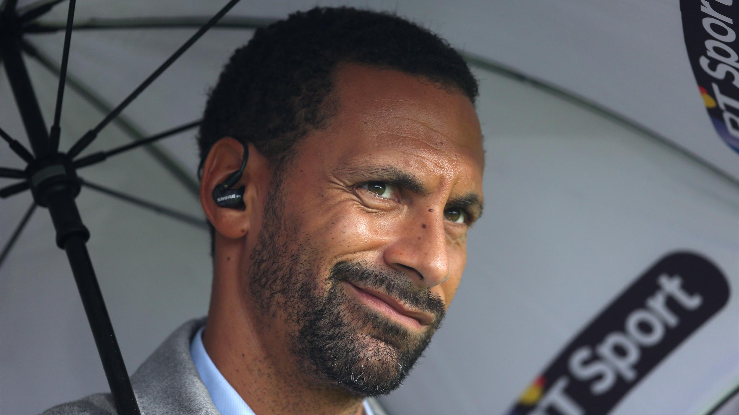 Rio Ferdinand about to do some TV work