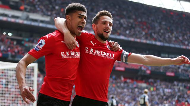 Barnsley back in Championship after beating Millwall in play-off final