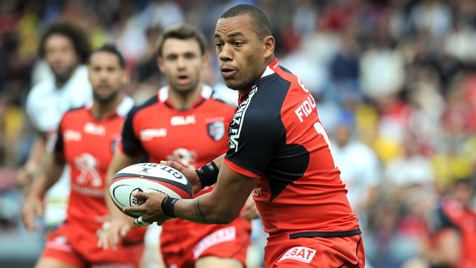 Gaël Fickou (Toulouse) contre Clermont - 29 mai 2016