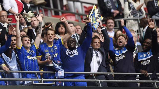 AFC Wimbledon beat Plymouth to secure League One promotion