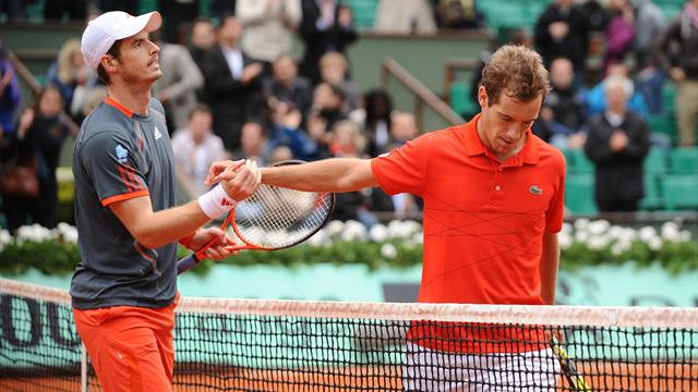 Murray 4, Gasquet 0… En Grand Chelem, il n'y a pas photo