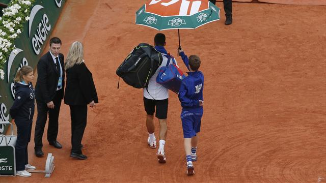Rain washes out full day at Roland Garros as all matches cancelled