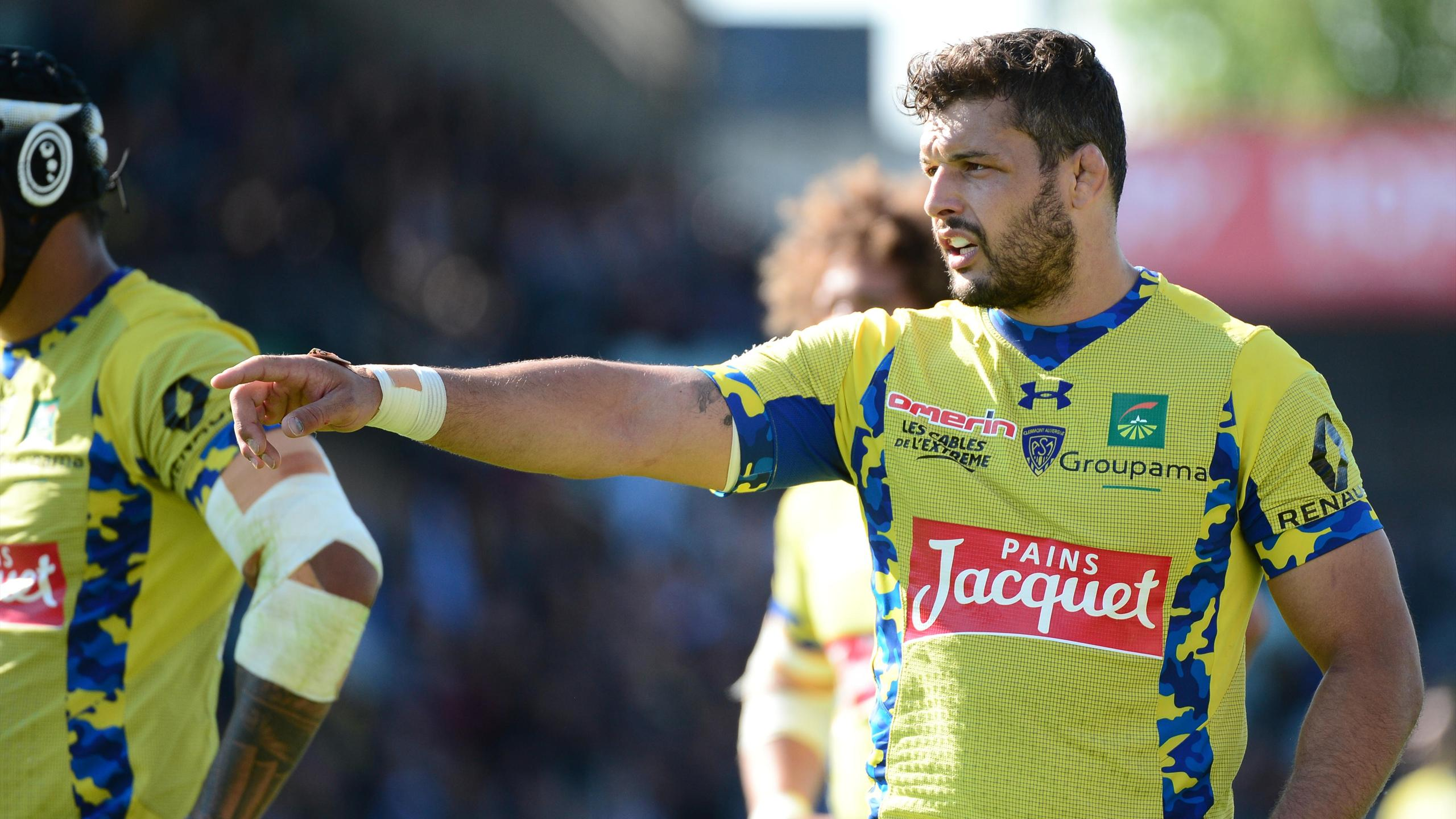 Damien Chouly (ASM Clermont) - mai 2016