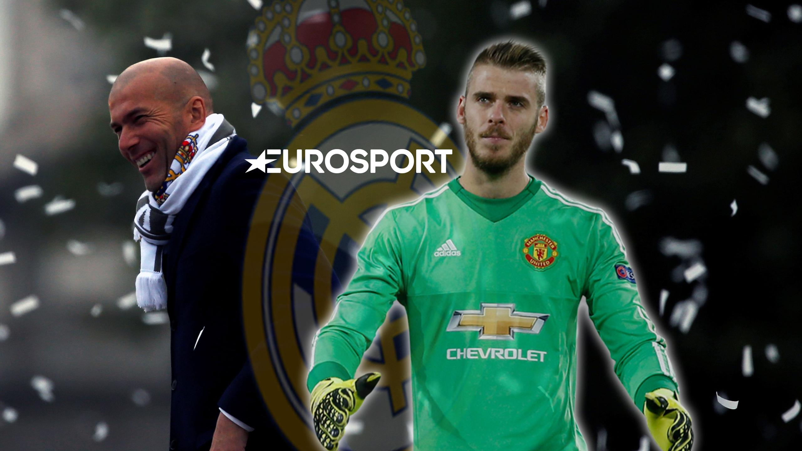 Zidane blocks Real Madrid offer for De Gea - Euro Papers