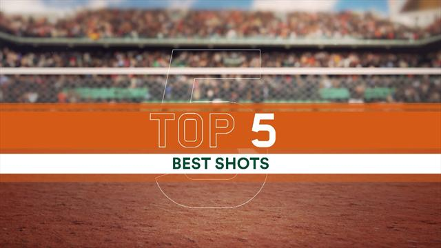 French Open 2016: Top 5 shots