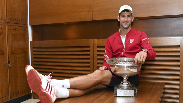 The rules of tennis simply do not apply to Novak Djokovic
