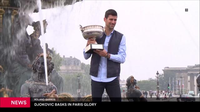 Djokovic basks in Paris glory