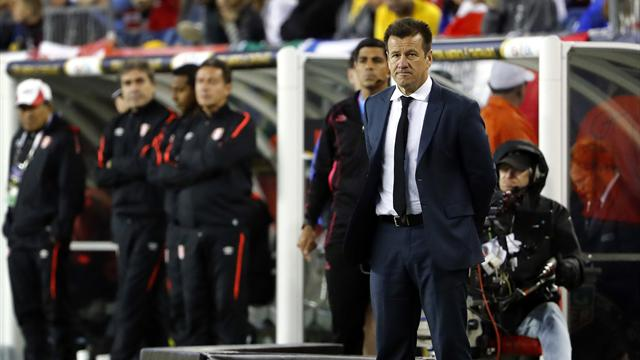 Dunga vows to fight on after Brazil's early Copa exit