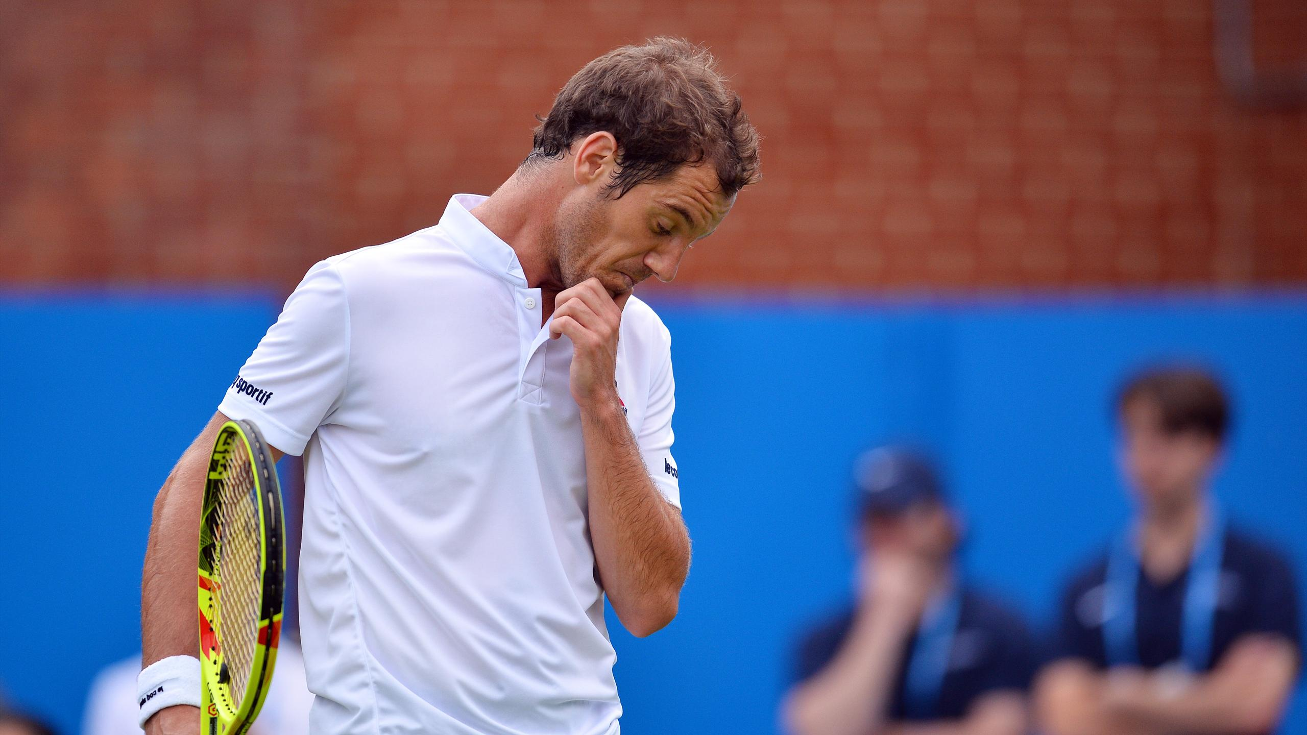 Richard Gasquet battu d'entrée au Queen's