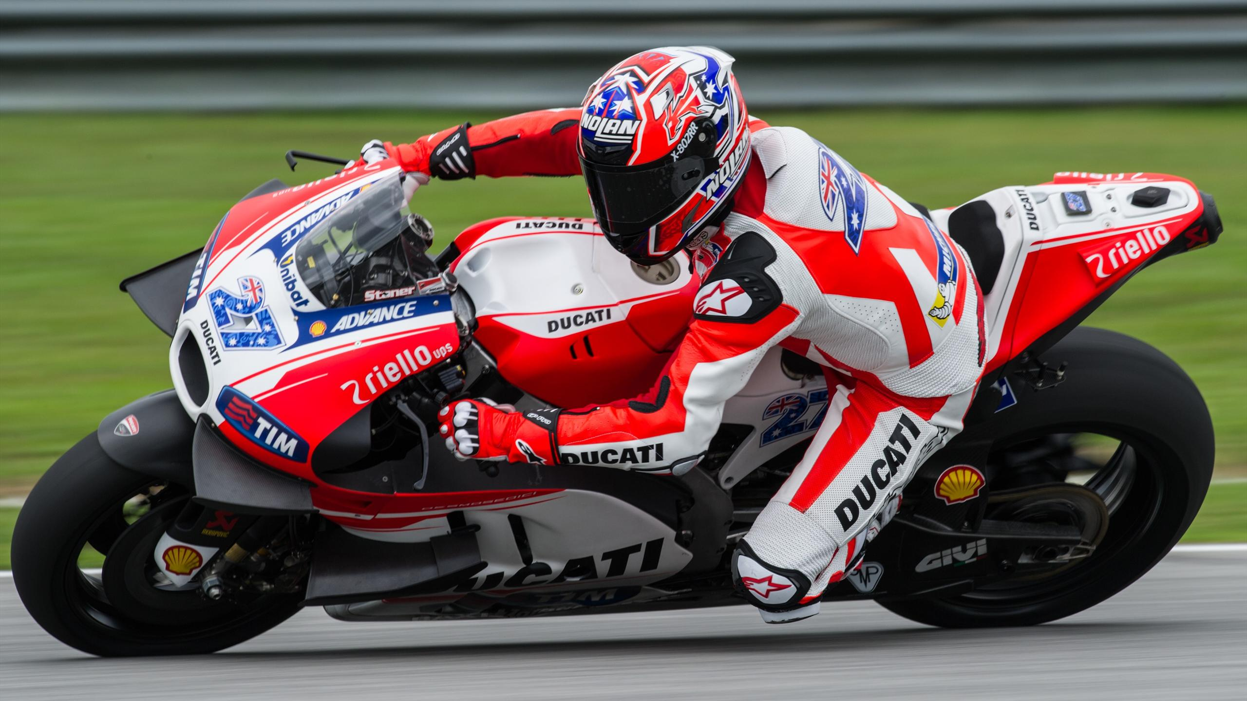 Casey Stoner (Ducati) - Test in Sepang on February 3, 2016