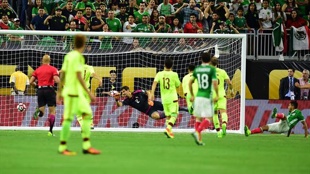 Corona stunner earns Mexico draw, top spot in Copa group