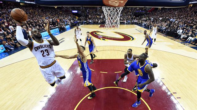 LeBron inspires Cavaliers to beat Warriors and force Game Seven at NBA Finals