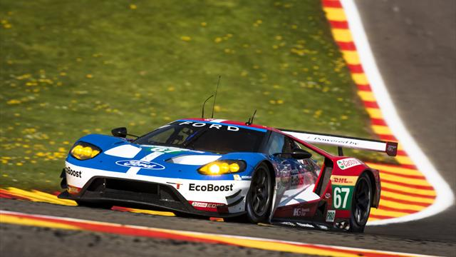 Experience the thrill of Le Mans from inside a Ford GT