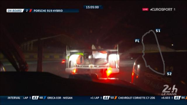 Brilliant battle between Porsche and Toyota at Le Mans
