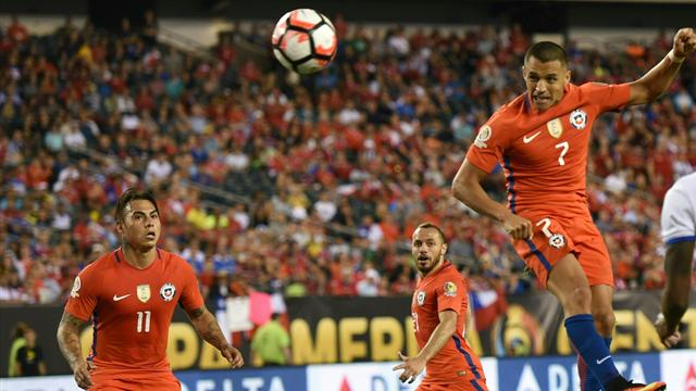 Chile beat Colombia to set up Copa America final against Argentina