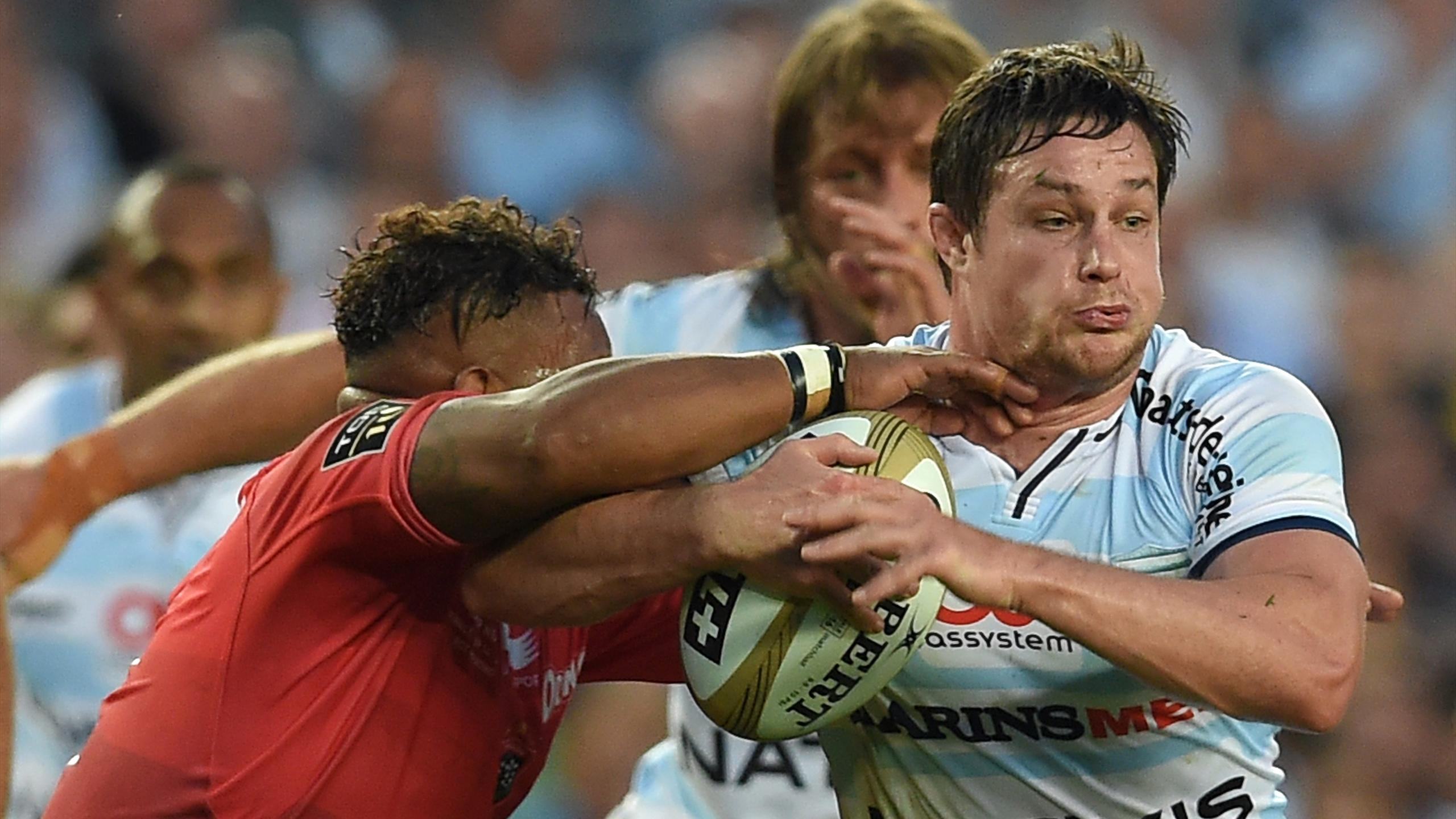 Henry Chavancy (Racing 92) face à Toulon - 24 juin 2016