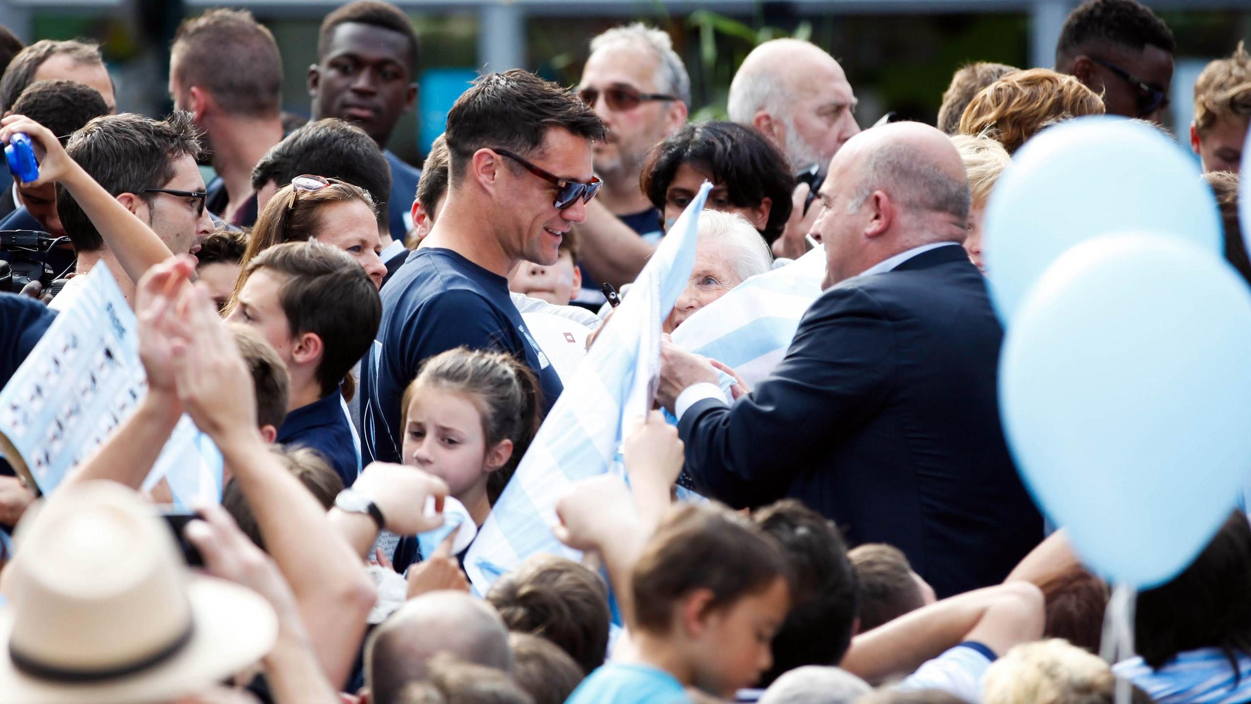 Dan Carter (Racing 92) - 28 juin 2016