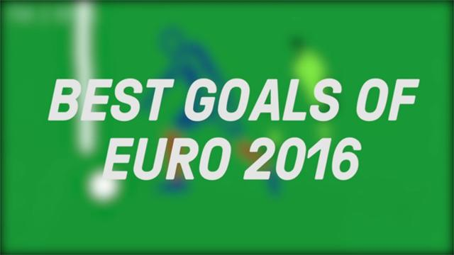 The best goals of Euro 2016, beautifully animated