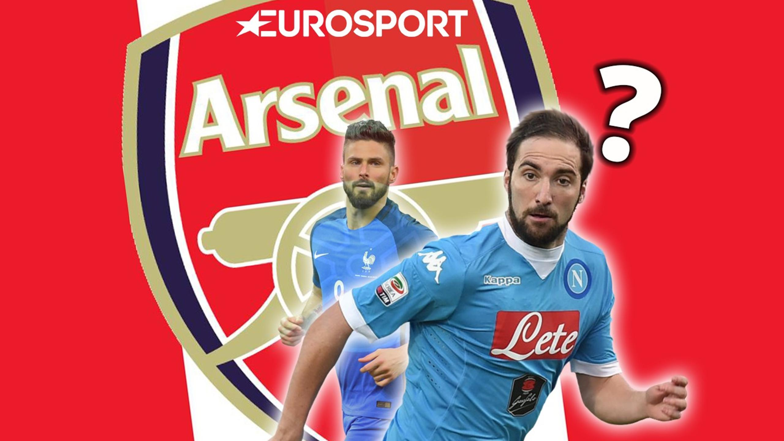 Arsenal in shock Giroud swap with... Higuain? - Euro Papers