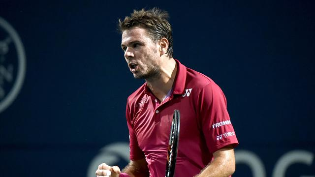 Stan Wawrinka makes it into last eight at Rogers Cup in Toronto