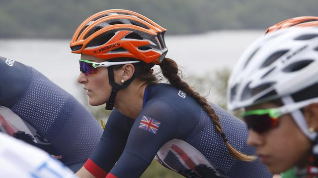 Lizzie Deignan takes second behind Anna van der Breggen in Amstel Gold Race