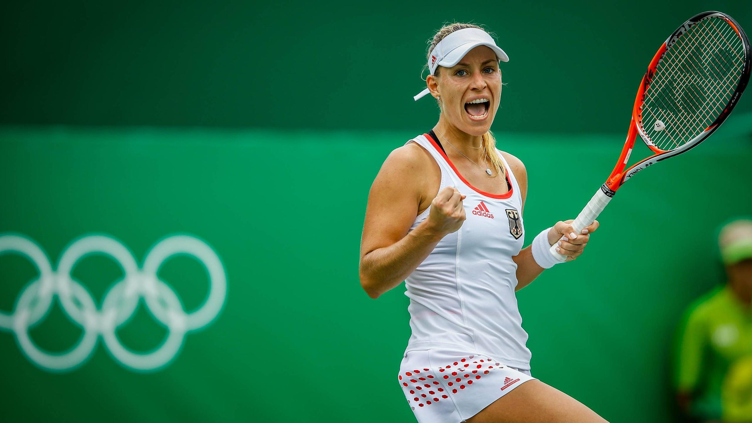 Angelique Kerber in Rio 2016