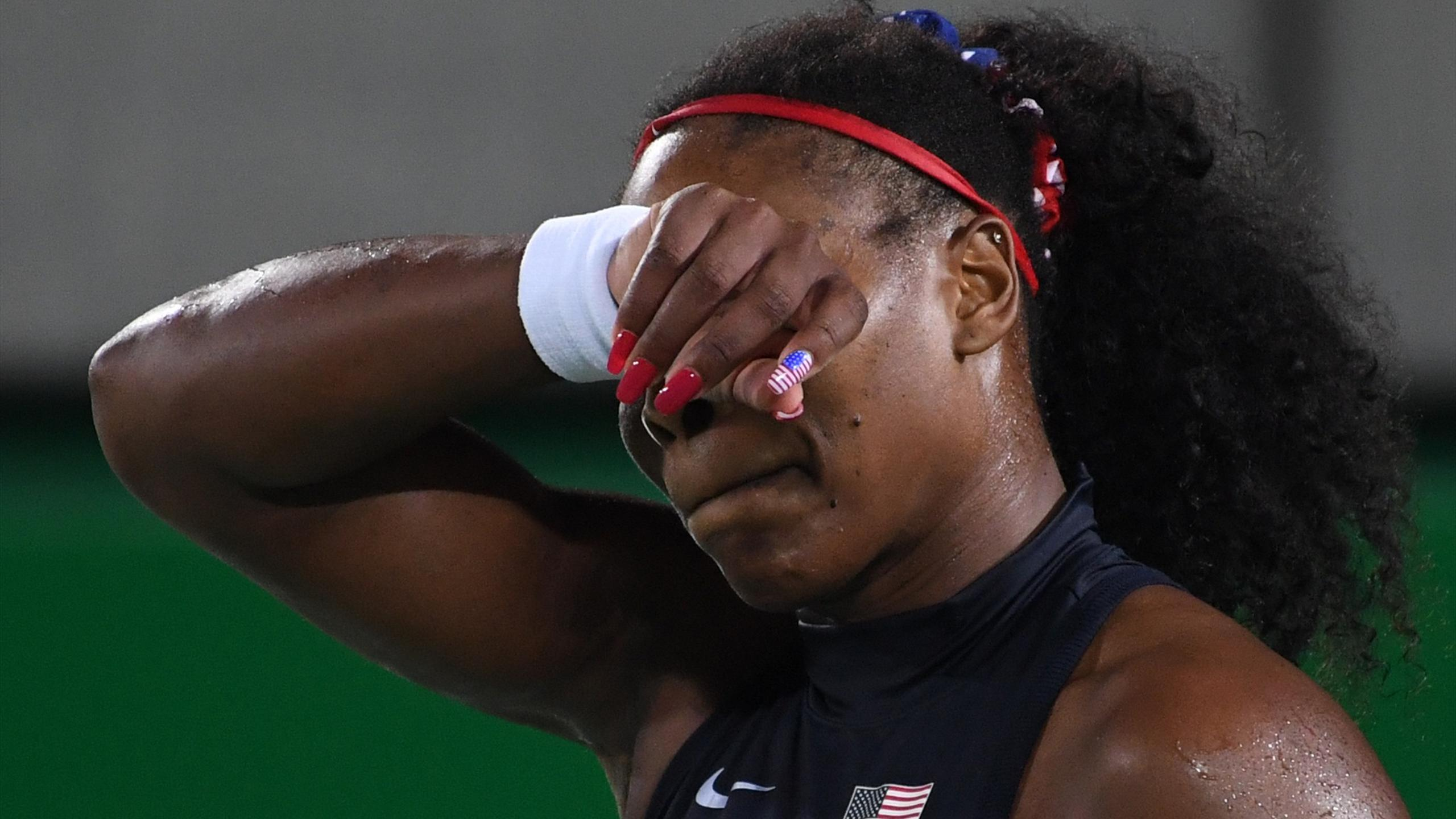 Serena Williams in Rio 2016