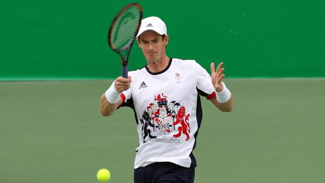 Murray eases into third round, Ferrer out