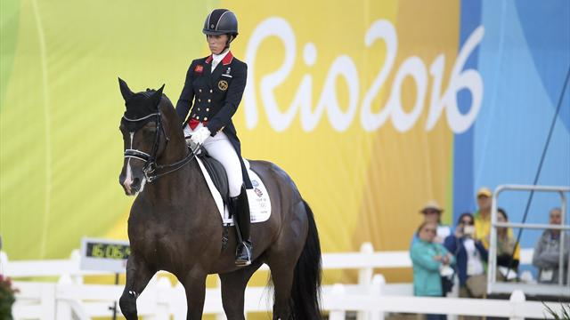 Rio Olympics 2016: Great Britain win team dressage silver, Germany take gold
