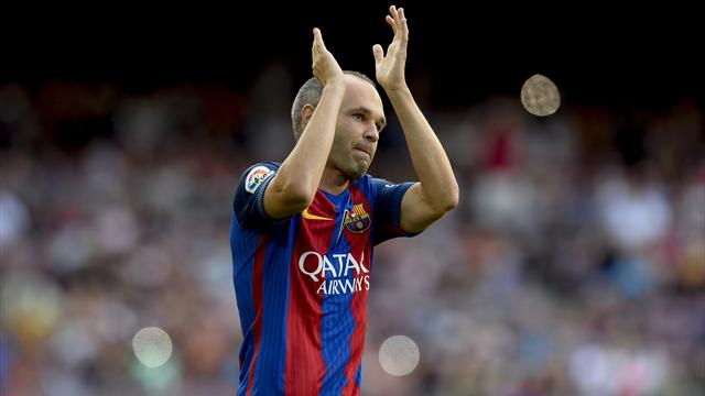 Iniesta set to return to face Real Madrid