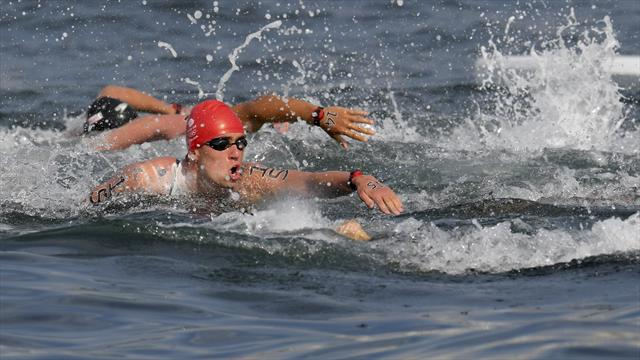 British swimmer furious at disqualification from the men's open water marathon
