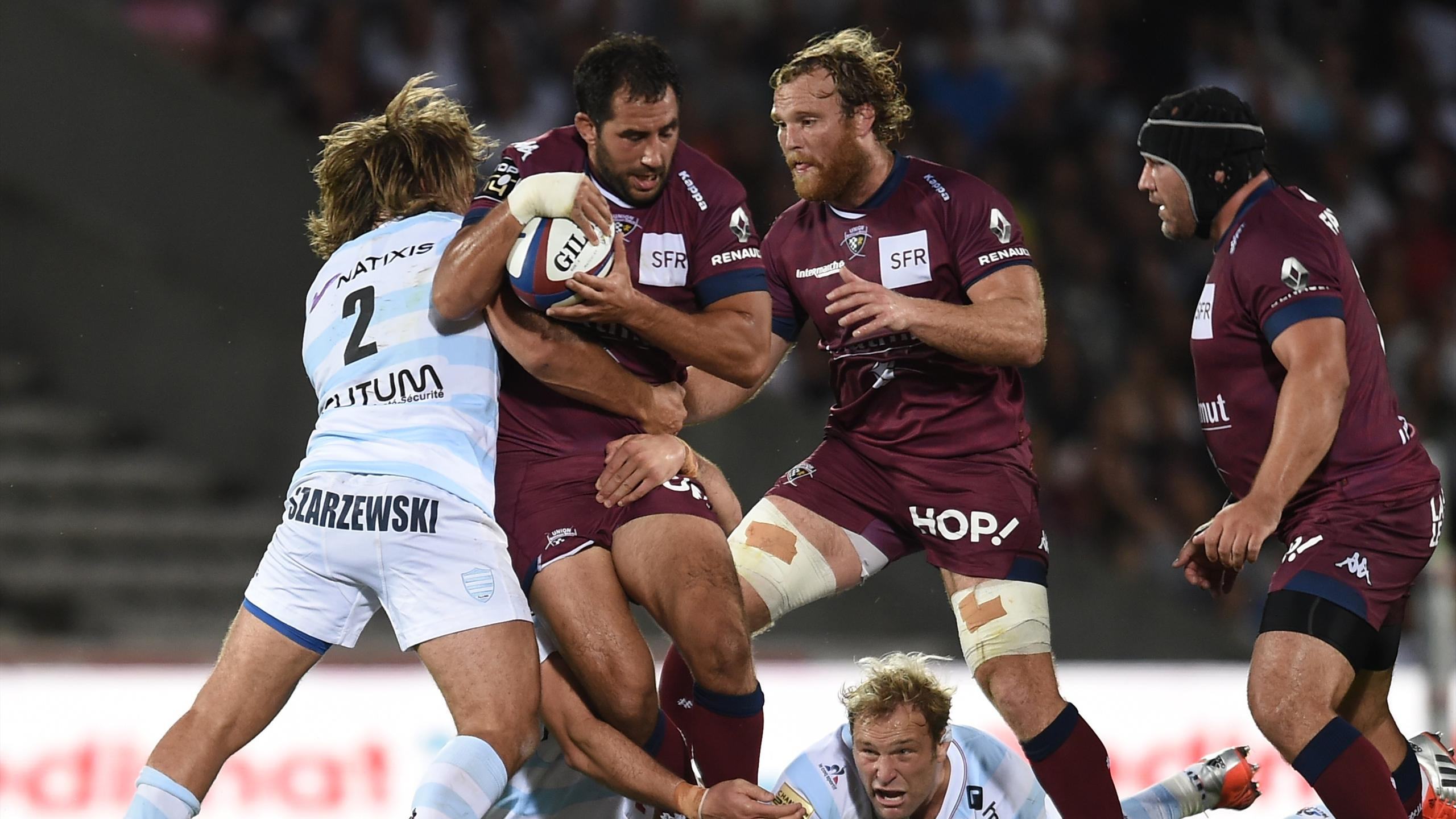 Louis-Benoît Madaule (UBB) face au Racing