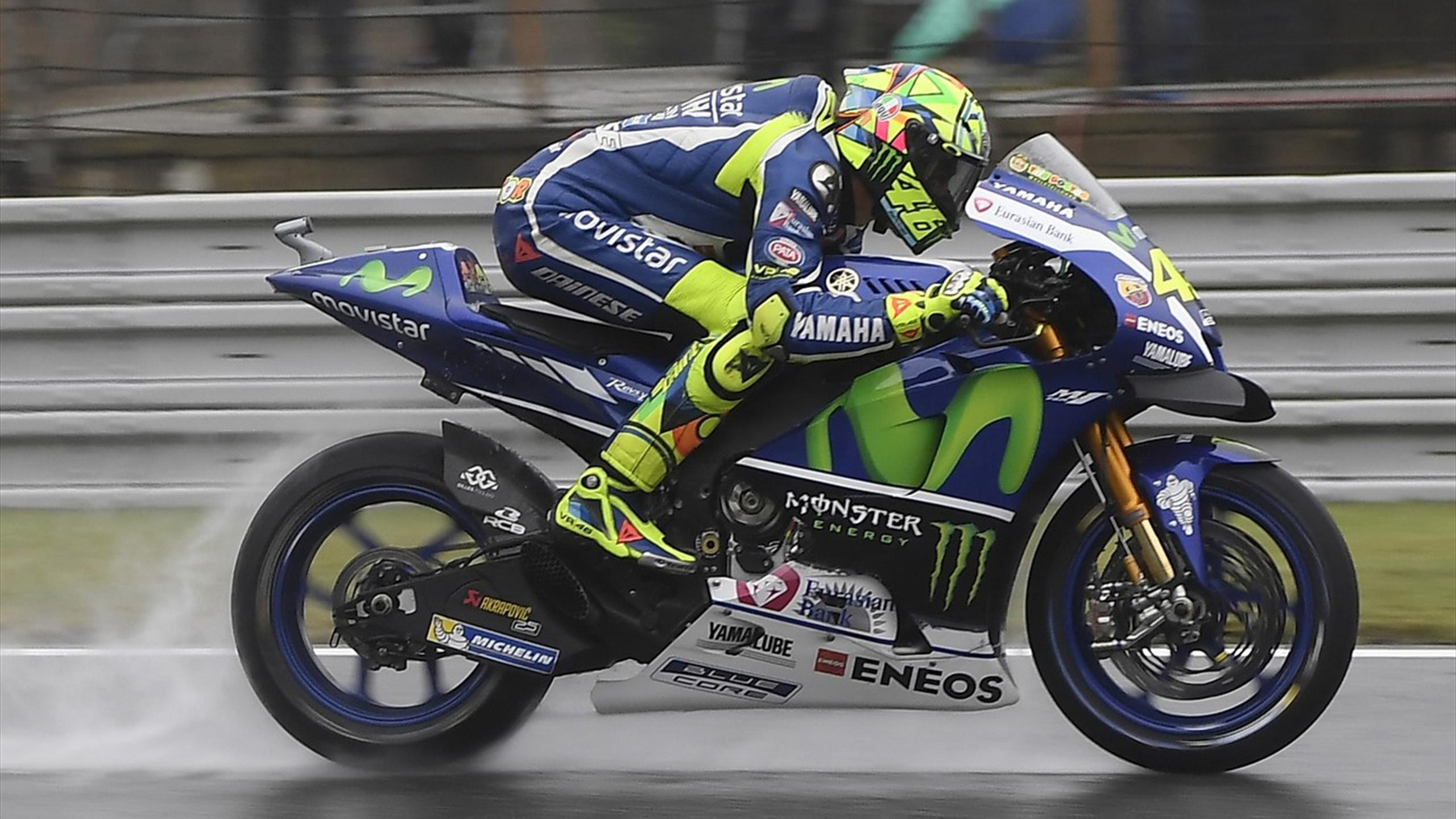 Valentino Rossi (Yamaha Factory) during Czech GP 2016