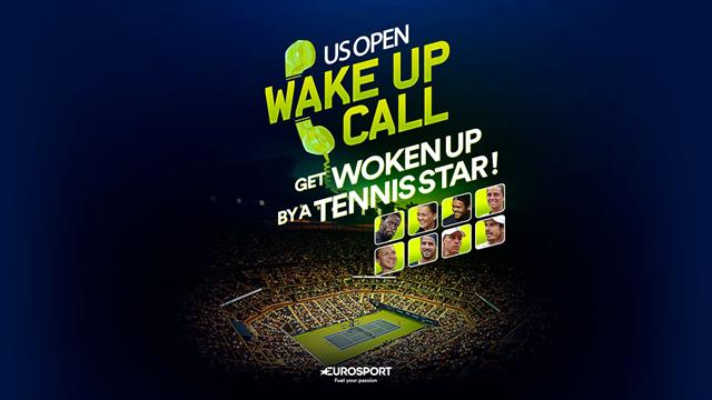US Open 2016: Don't miss a single match – get a wake-up call from a star player!