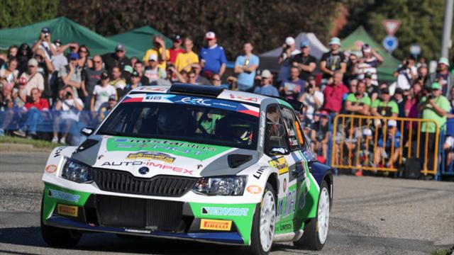 After SS3: Kostka on a charge, chasing another Czech ERC podium