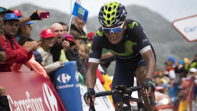 Spaniard De La Cruz wins Vuelta stage nine, takes red jersey