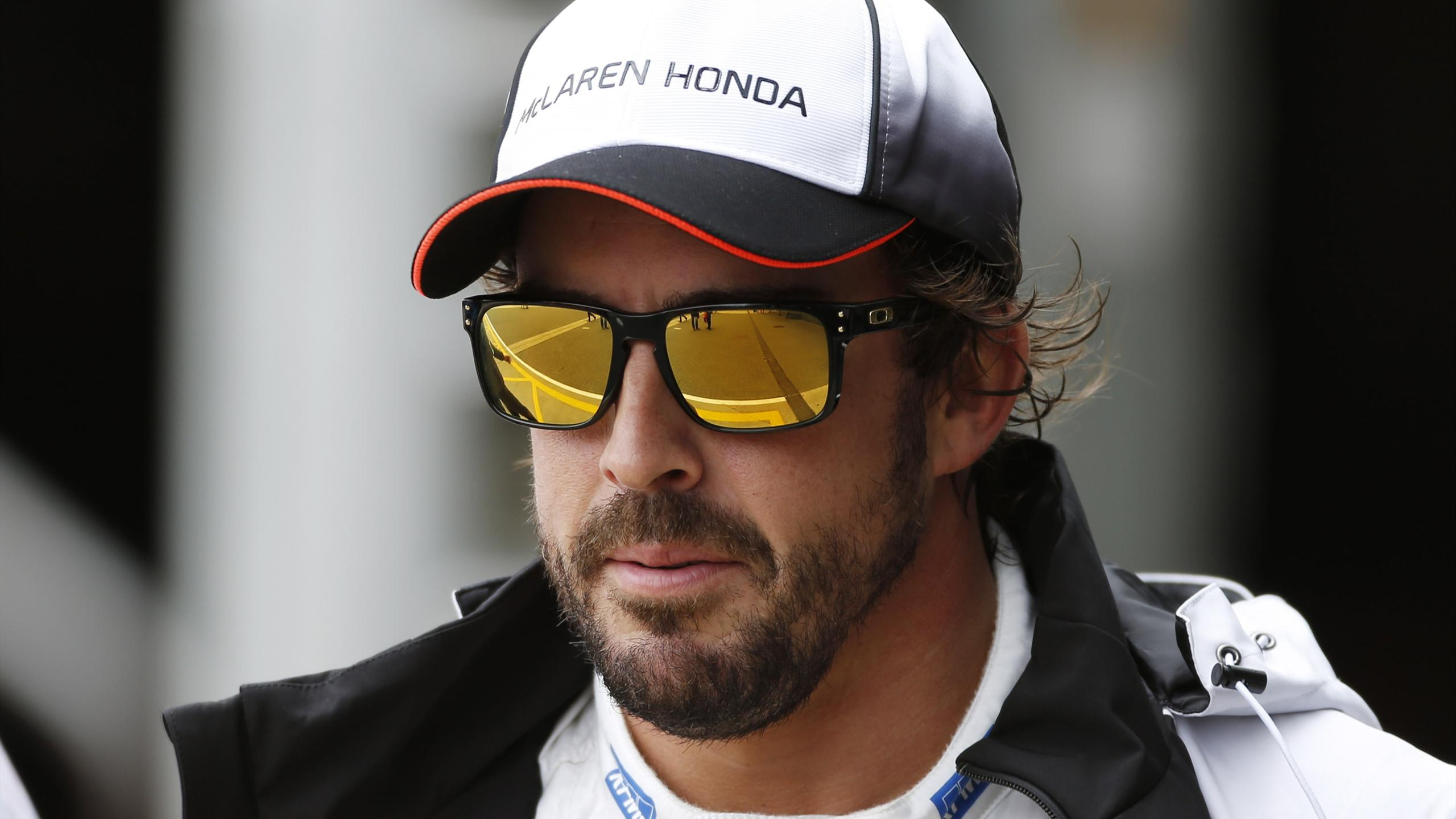 McLaren's Fernando Alonso after qualifying