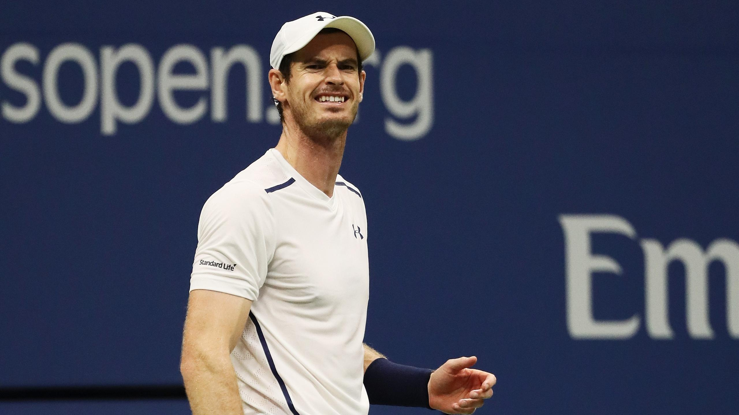 Andy Murray, vainqueur facile de Marcel Granollers au 2e tour de l'US Open