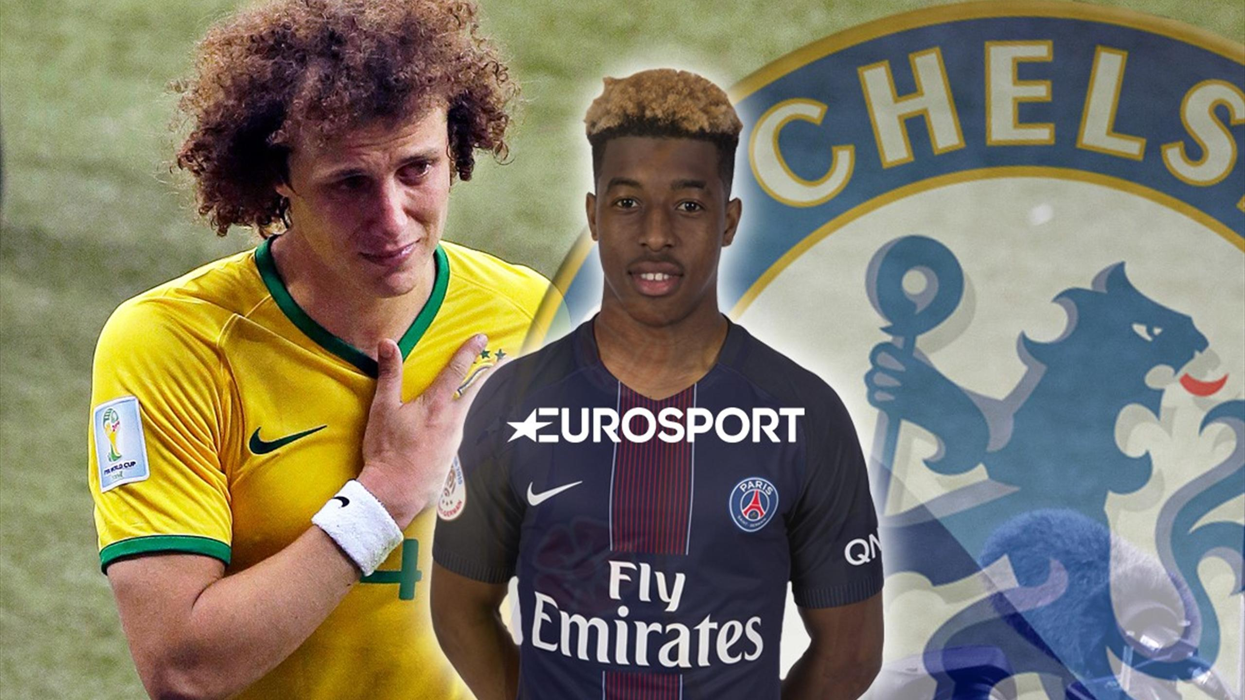 £34m David Luiz was Chelsea's second choice PSG defender - Euro Papers