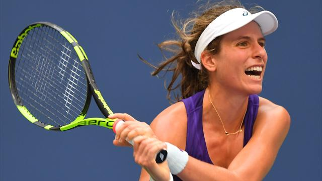 Konta boosts prospect of reaching WTA Finals with Wuhan win