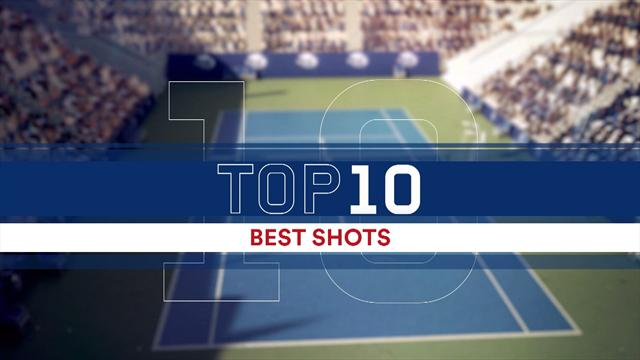 Top 10: Best points from the whole US Open