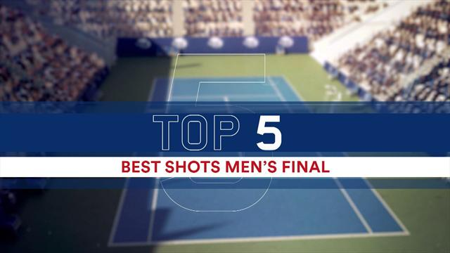 Top 5 shots: Men's final