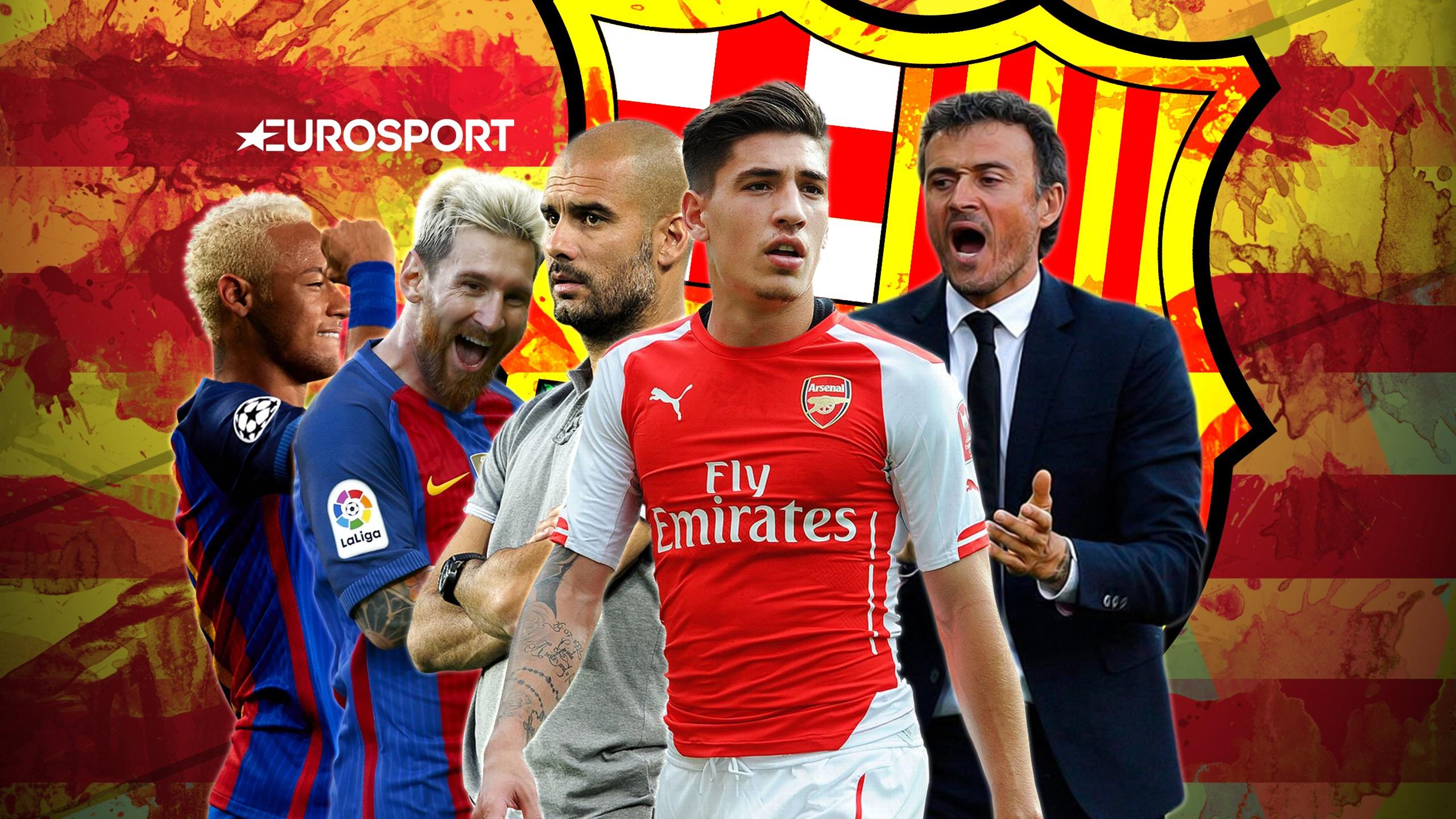 Euro Papers: Barcelona attempt to poach Bellerin - City fail in Neymar and Messi bid