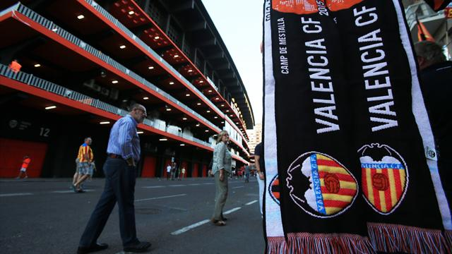 Valencia coach axed after worst run in 97 years