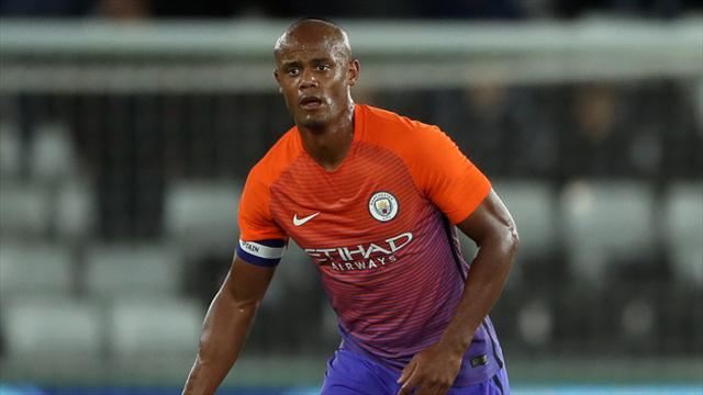 Manchester City await Vincent Kompany news after comeback ends in late injury
