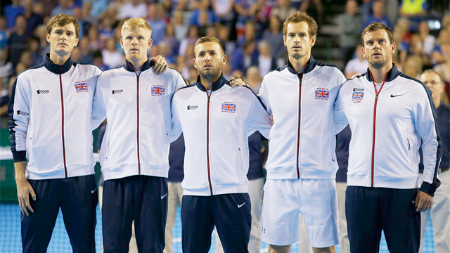 GB drawn away to Canada in 2017 Davis Cup opener