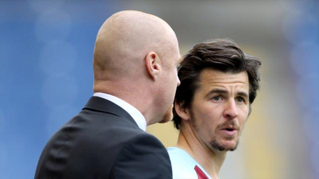 Sean Dyche hails 'fantastic' Joey Barton but sidesteps Rangers issue