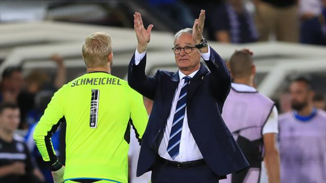 Claudio Ranieri wouldn't change Leicester front line for anyone