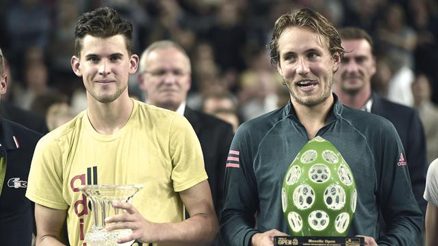 France's Pouille claims first ATP title in Metz